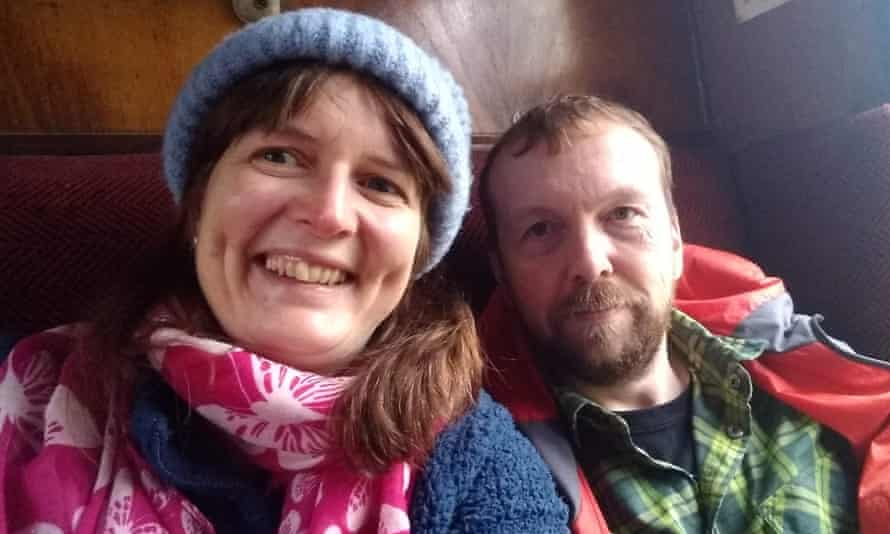 Marie Convery and her partner Gliyn Hopkins