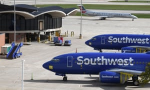 Traffic was down 70% at General Mitchell International Airport in Milwaukee, Wisconsin, on Friday 2 October. Tens of thousands of airline and flight-related workers face layoffs as air travel has declined precipitously because of the pandemic.