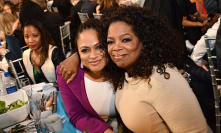 DuVernay with Oprah Winfrey in 2015.