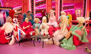 'An unexpectedly emotional, entertaining ride ... the Drag Race UK cast.
