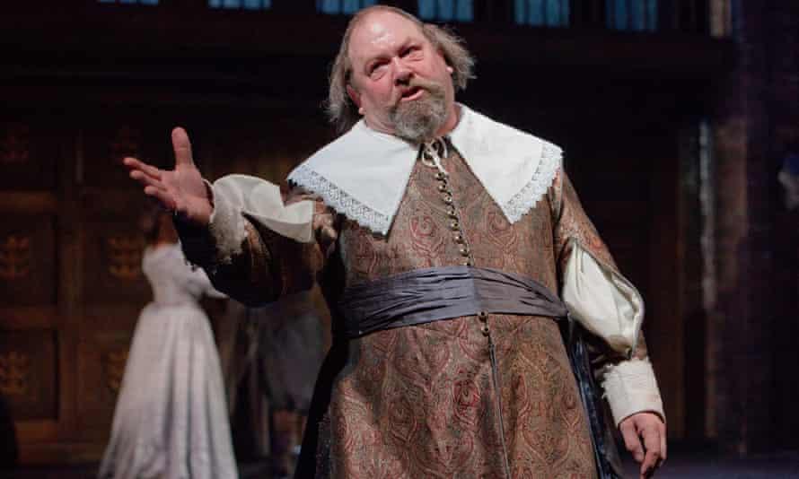 Mark Addy 'struts flamboyantly' as Sir John Hotham in The Hypocrite.