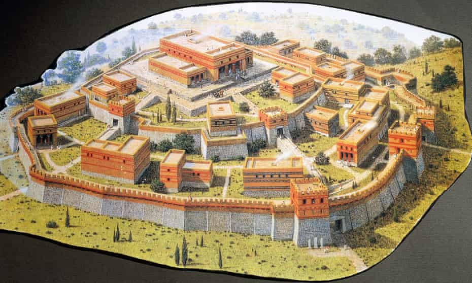 Reconstruction of the Homeric city of Troy