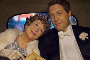 Note imperfect: Meryl Streep and Hugh Grant in Florence Foster Jenkins.
