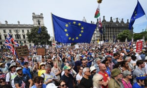 Saturday's People's March Against Brexit in London