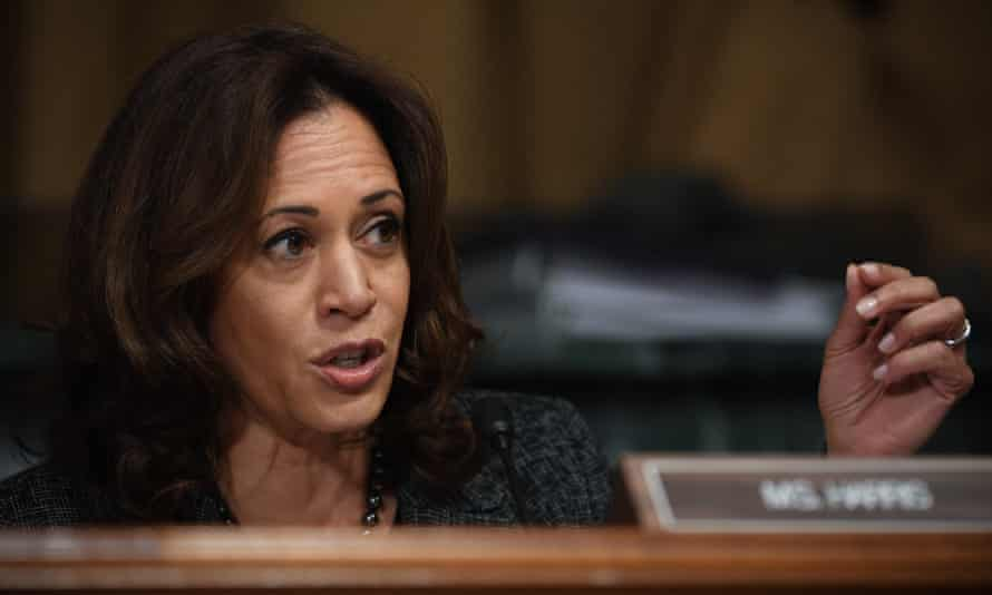 Kamala Harris has acknowledged the need to repair historic wrongs on the black community.