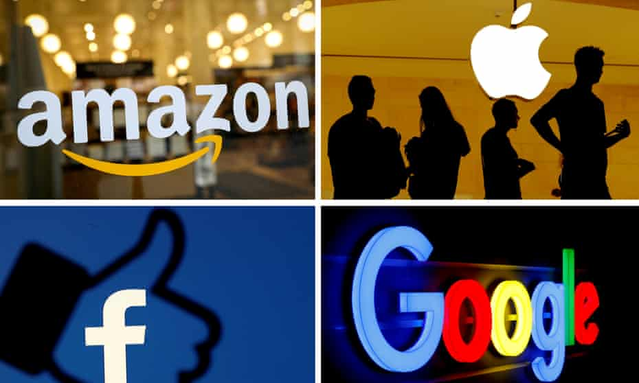 Countries can raise tax on sales made within their borders by multinational companies such as Amazon, Apple, Facebook and Google