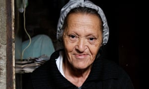 A resident of Turano favela