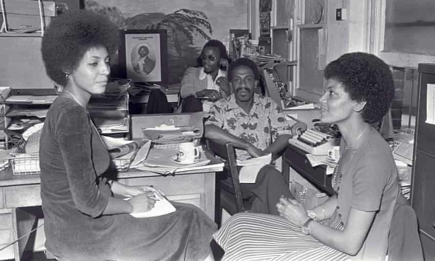Leila Hassan – Core member of British Black Panther