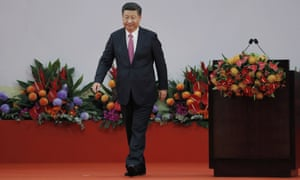 President Xi Jinping warned in his speech on Saturday that any attempt to endanger Chinese sovereignty in the former colony would cross a red line.
