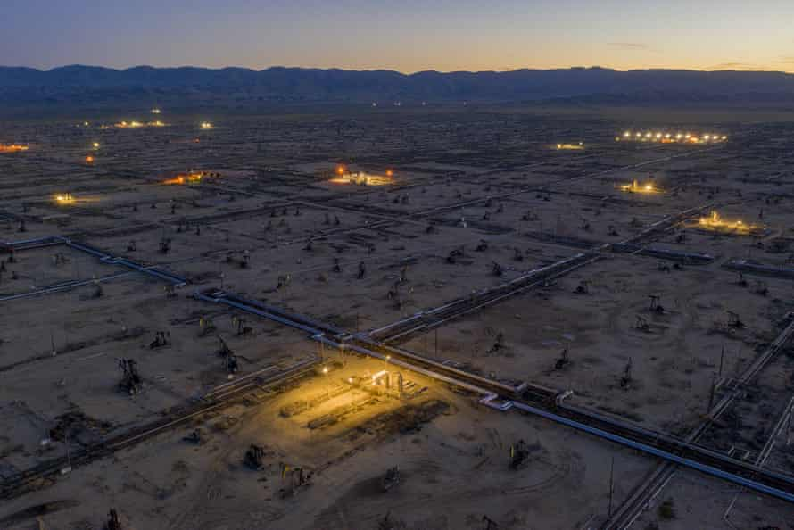 The South Belridge Oil Field in Kern County is the fourth-largest oil field in California and one of the most productive in the US.