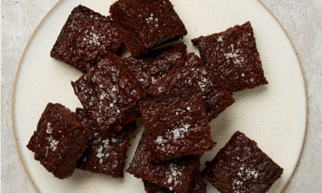 Meera Sodha's recipe for vegan salted miso brownies