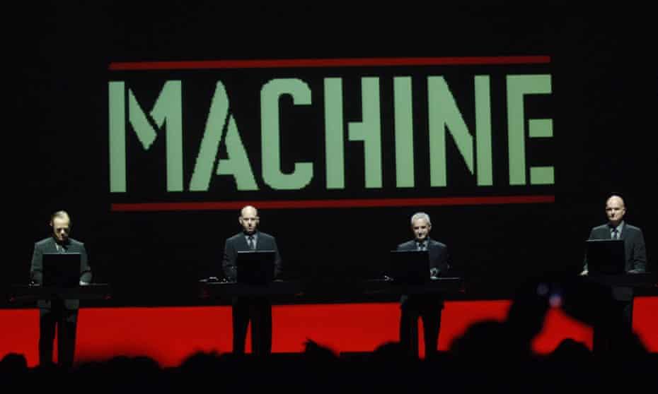 Kraftwerk in concert in New York in 2005
