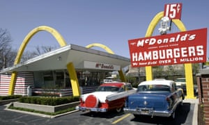 A replica of Ray Kroc's first McDonald's franchise in Des Plaines, Illinois. McDonald's CEO Steve Easterbrook admitted: 'Our recent performance has been poor.'