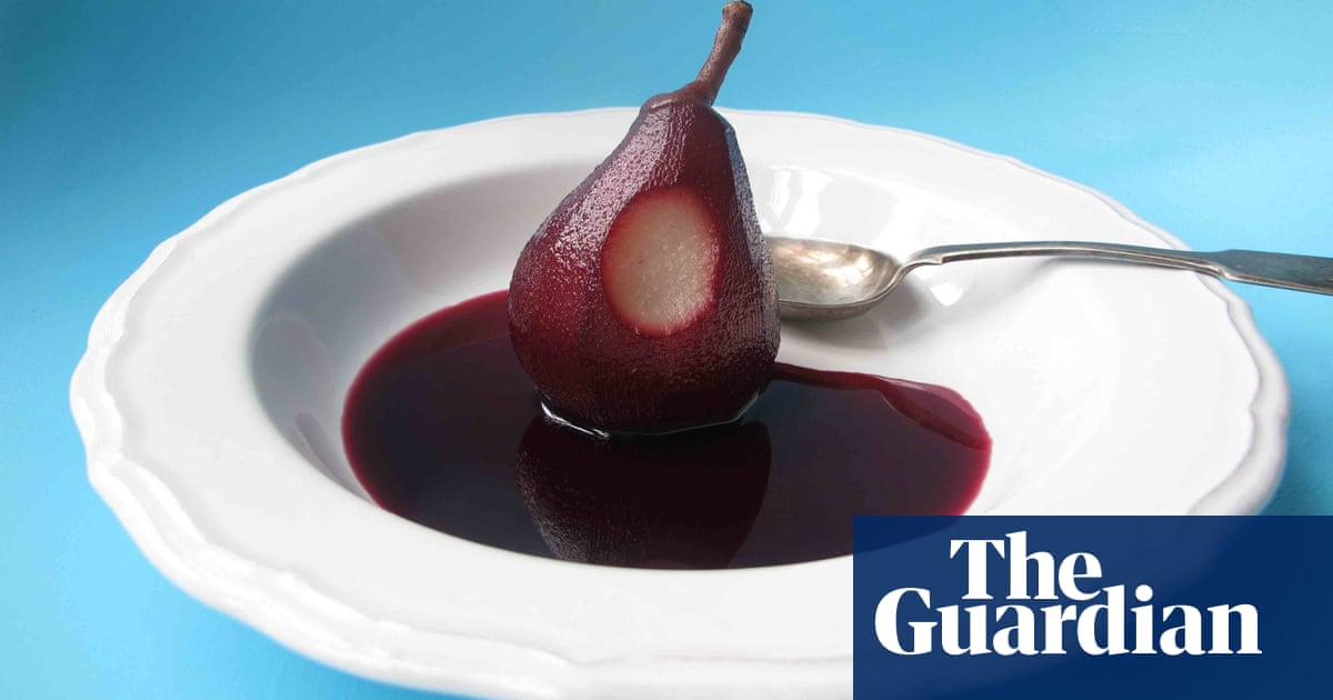 How to make the perfect poached pears | Food | The Guardian