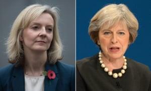 Liz Truss and Theresa May