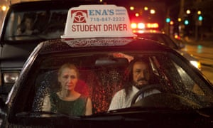 Patricia Clarkson and Ben Kingsley in Learning to Drive