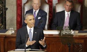 Obama, Biden, Boehner<br>FILE - In this Jan. 20, 2015, file photo, President Barack Obama gives his State of the Union address before a joint session of Congress on Capitol Hill in Washington as Vice Presient Joe Biden and House Speaker John Boehner listen. (AP Photo/J. Scott Applewhite, File)