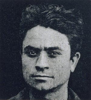 """From Cesare Lombroso's 19th-century criminal taxonomy: headshot of a """"habitual thief"""""""