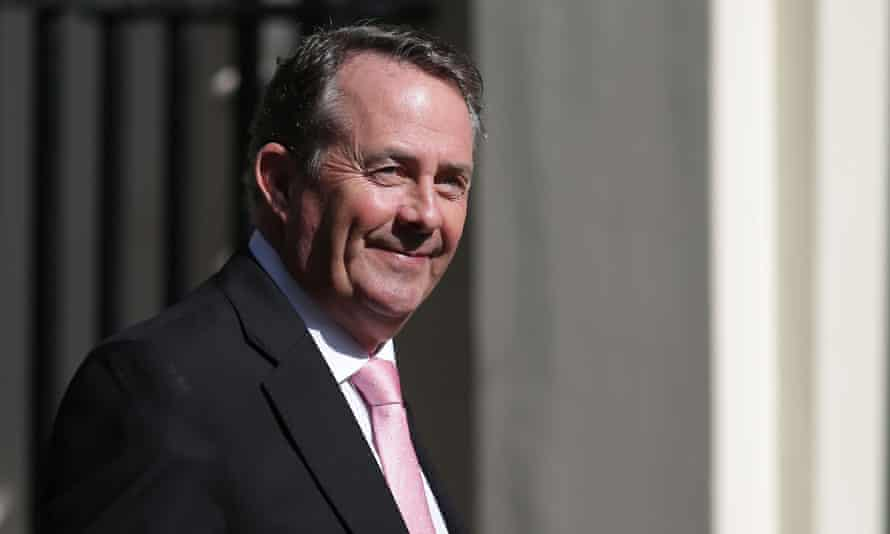 Liam Fox, Britain's International trade secretary