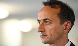 Liberal candidate for Wentworth Dave Sharma l