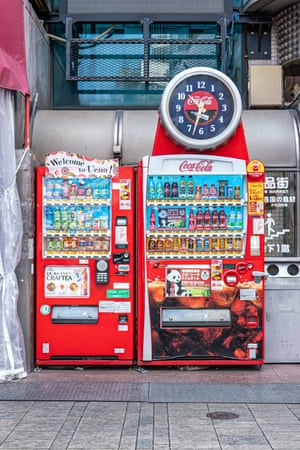 Photographs of vending machines in Tokyo, Japan by London-based photographer Tim Easley.