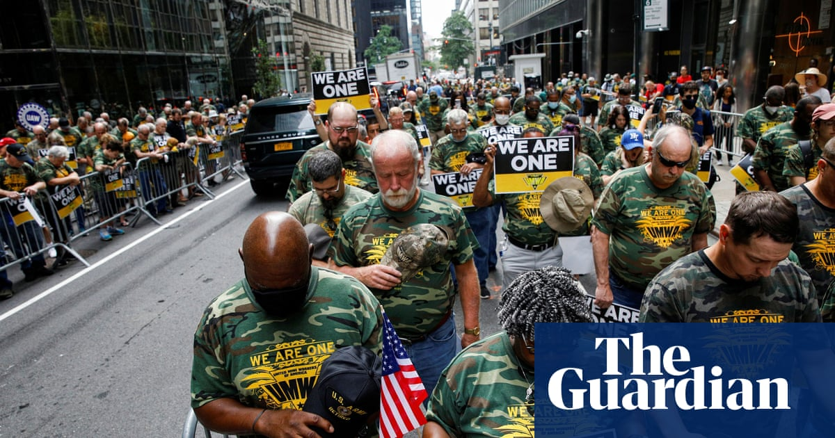 Union advocates rally in New York to support striking Alabama coalminers