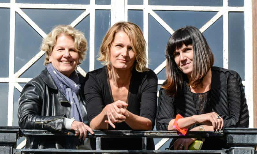 Sandi Toksvig, Sophie Walker and Catherine Mayer at the Women's Equality party policy launch this week.