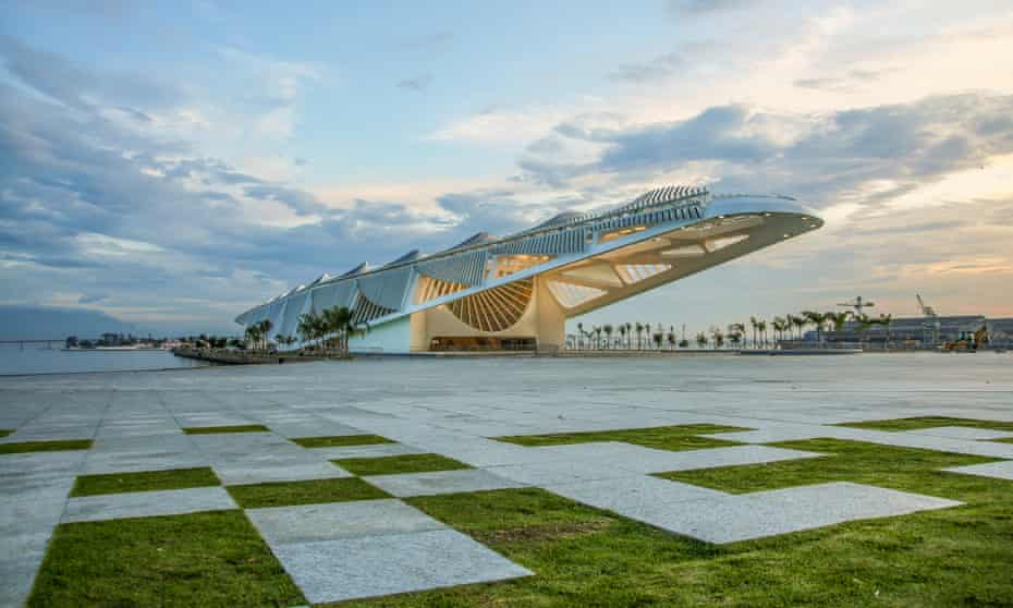 The Museum of Tomorrow in Rio de Janeiro, Brazil: one of the world's most extraordinary buildings.
