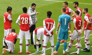 The pressure is on Mikel Arteta to get Arsenal off to a winning start against Manchester City at the Etihad Stadium on Wednesday.
