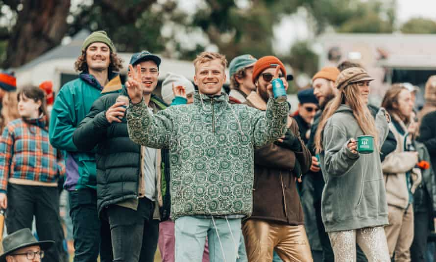 Festival-goers at Meadow