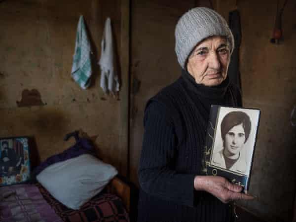 Hranush Sargsyan, 81, in Vanadzor
