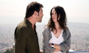 Hall with Javier Bardem in the 2008 film Vicky Cristina Barcelona