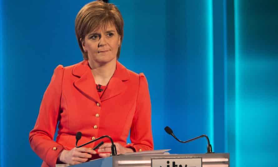 SNP leader Nicola Sturgeon impressed during the ITV leaders' debate.