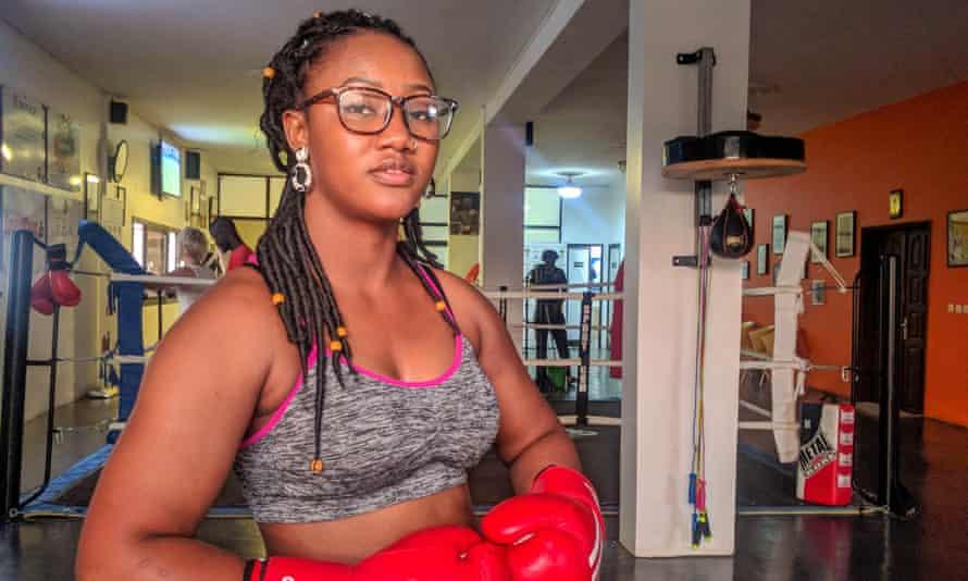 Toufah Jallow in Dakar.