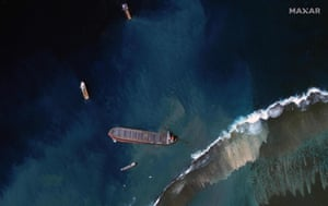 Prime Minister Pravind Jugnauth said on Wednesday nearly all remaining oil had been removed from the damaged Japanese ship, which leaked about 1,000 tonnes