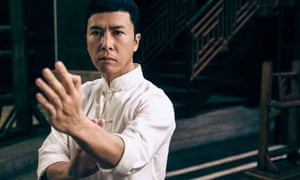 Heroically battling for the underdog … Ip Man, played by Donnie Yen
