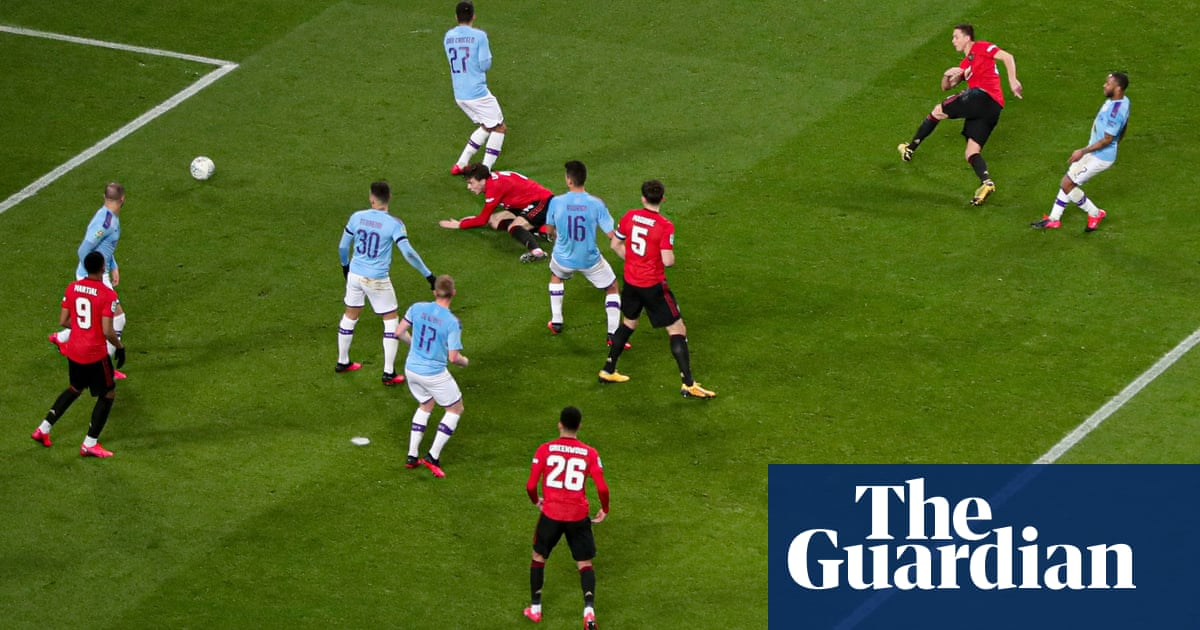 Manchester City reach Carabao Cup final despite Matic's winner for United