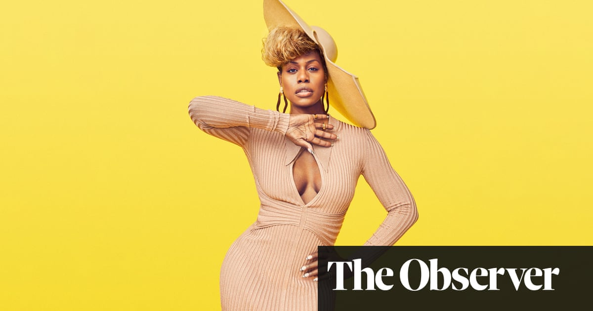 Laverne Cox: 'I can be so hard on myself'