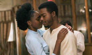Kiki Layne and Stephen James in If Beale Street Could Talk.