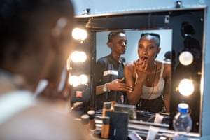 Model Cynthia Ikapa says modelling is about more than clothes, it is an expression of the love the tailors put into their work