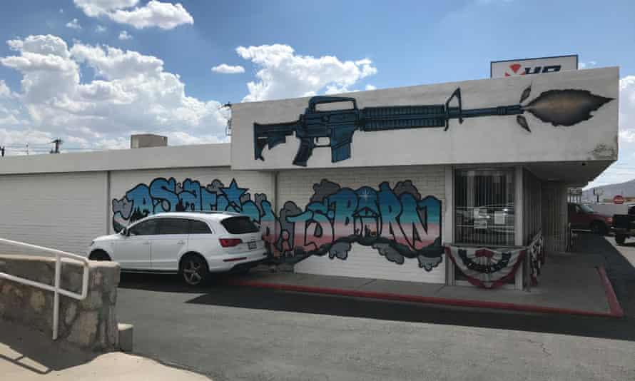 Gun Central in El Paso.