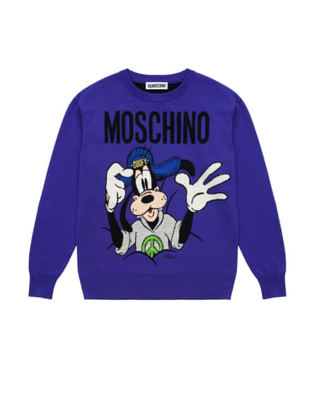 MOSCHINO x H&M, Goofy jumper, £79.99.