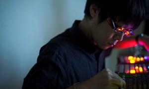 Experimental film maker Makino Takashi