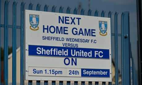 Sheffield Wednesday v Sheffield United: Championship – live!