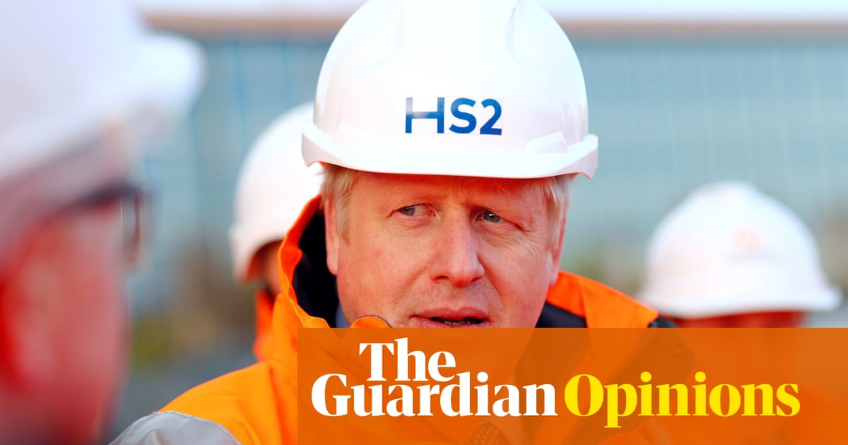 Depleted and unwanted, HS2 hurtles on as Johnson's £100bn vanity project