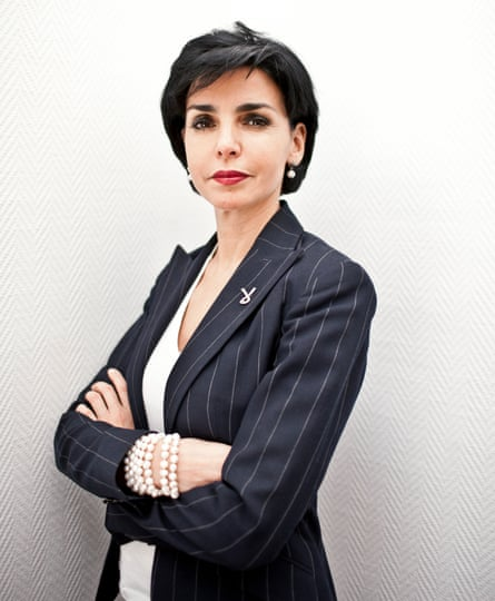 Rachida Dati, the first Muslim woman to hold a major government post in France