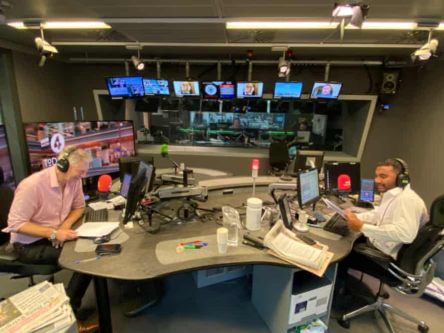 Amol Rajan, right, makes his debut on the Today, opposite fellow presenter Justin Webb.