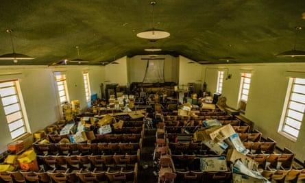 The derelict Arthur G Dozier School for Boys in Florida, the inspiration for The Nickel Boys.