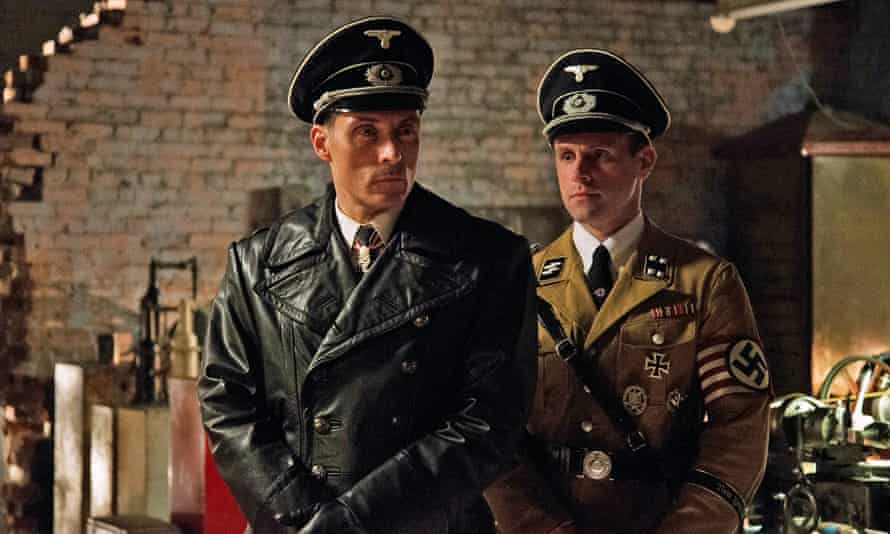 Rufus Sewell (left) in The Man in the High Castle.