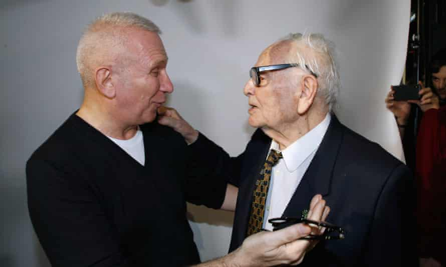 'I owe him everything …' Gaultier and Pierre Cardin.